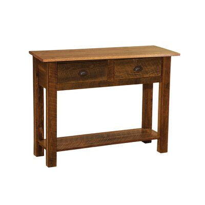 Barnwood Console Table Color: Barnwood