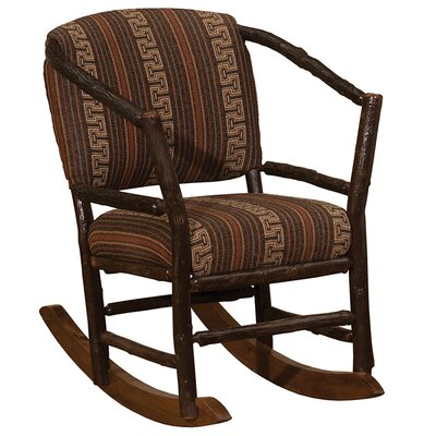 Hickory Hoop Rocking Chair