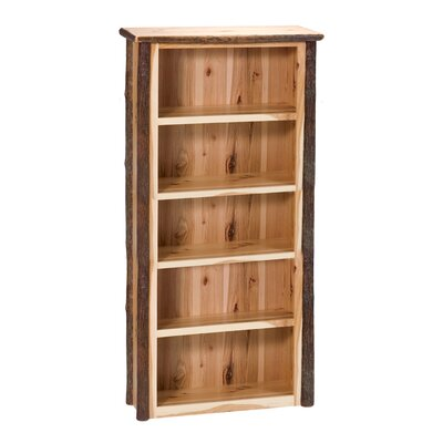 Hickory Standard Bookcase Color: Traditional, Size: Medium