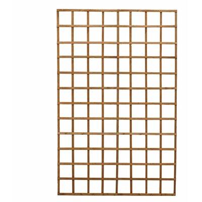 "Wood Lattice Panel Trellis Size: 24"" H x 36"" W"