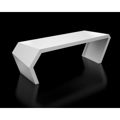 Pac Steel Bench Color: Brilliant White