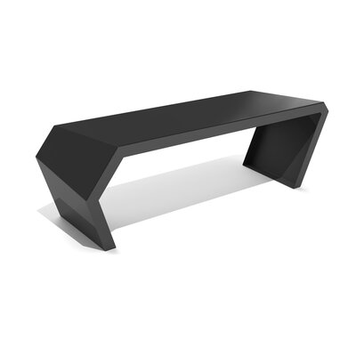 Pac Steel Bench Color: Jet Black