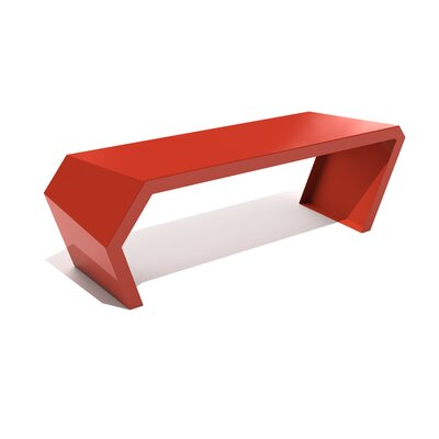 Pac Steel Bench Color: Spirit Red