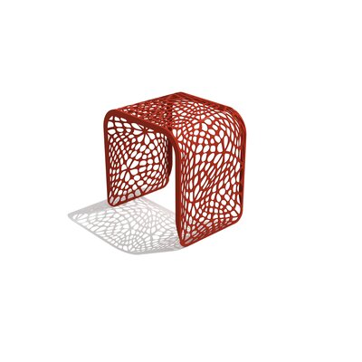 Coral Stool Color: Spirit Red
