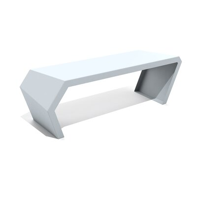 Pac Steel Bench Color: Glacier Gray