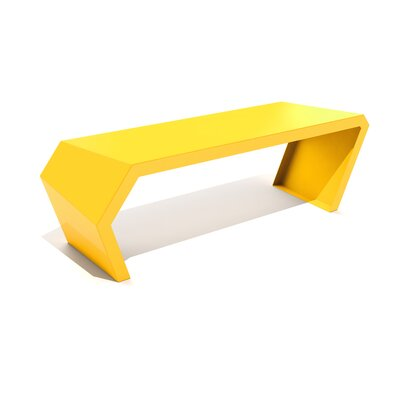 Pac Steel Bench Color: Bright Sun
