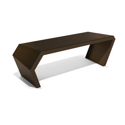 Pac Steel Bench Color: Burnished Bronze