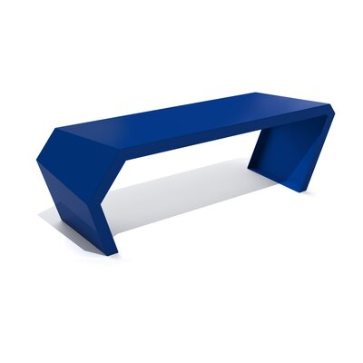 Pac Steel Bench Color: Baltic Blue