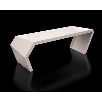 Pac Steel Bench Color: Cream White