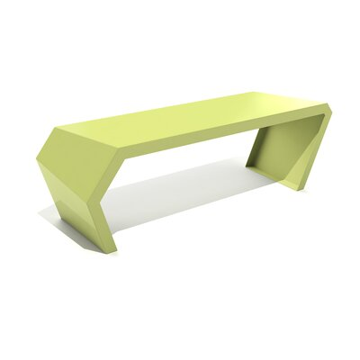 Pac Steel Bench Color: Lush Green