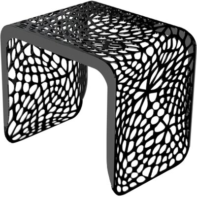 Coral Stool Color: Jet Black