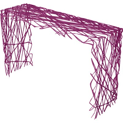 Strand Console Table Color: Wild Orchid