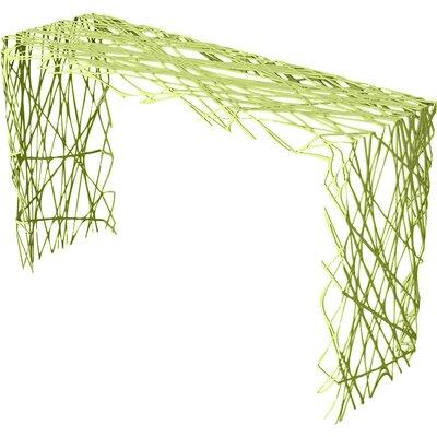 Strand Console Table Color: Lush Green