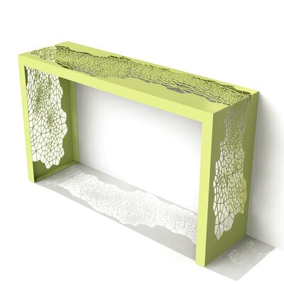 Hive Console Table Color: Lush Green