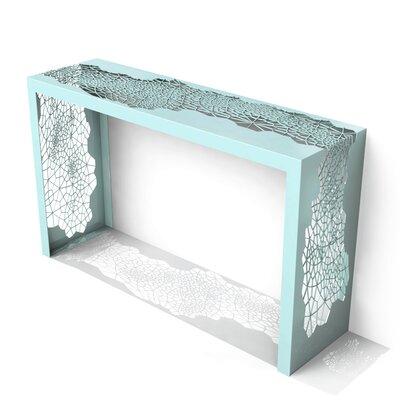 Hive Console Table Color: Sea Green