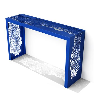 Hive Console Table Color: Baltic Blue