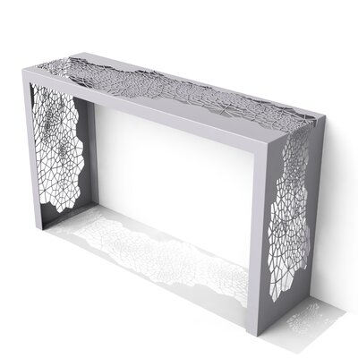 Hive Console Table Color: Aviator Grey