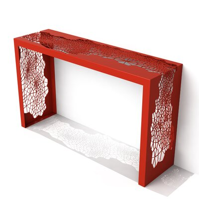 Hive Console Table Color: Spirit Red