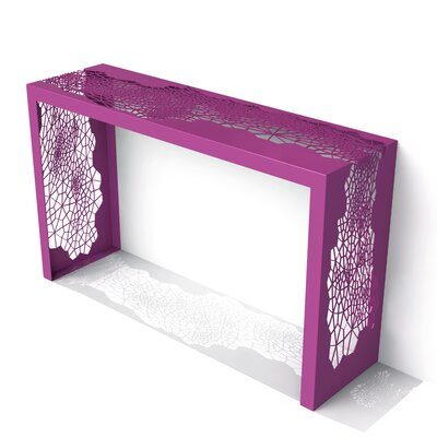Hive Console Table Color: Wild Orchid