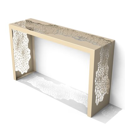 Hive Console Table Color: Chilled Champagne