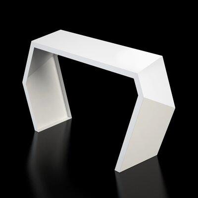 Pac Console Table Color: Brilliant White