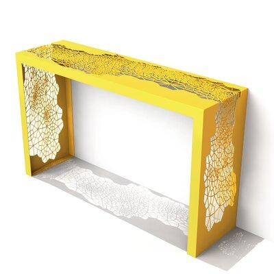 Hive Console Table Color: Bright Sun