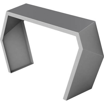 Pac Console Table Color: Silver Sand