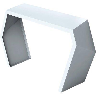Pac Console Table Color: Galcier Gray