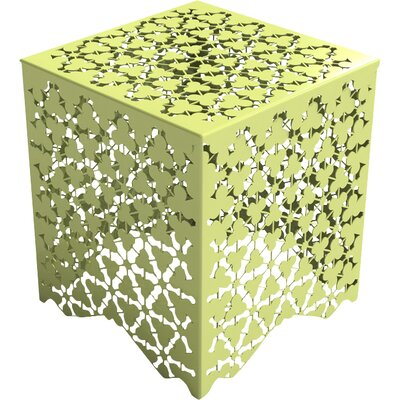 Ricami Stool Color: Lush Green