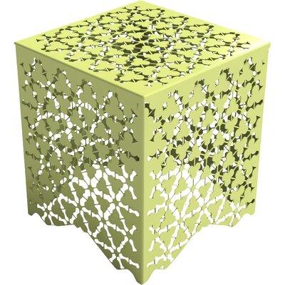 Ricami Stool Color: Lush Green