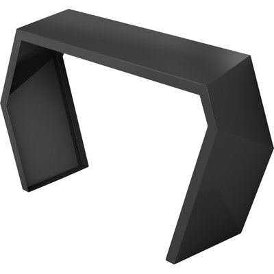 Pac Console Table Color: Jet Black