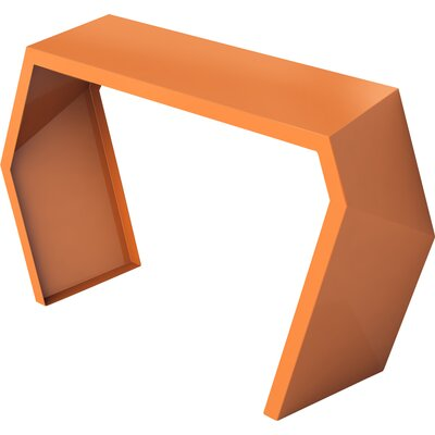 Pac Console Table Color: Salmon Sky