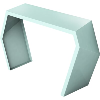 Pac Console Table Color: Sea Green