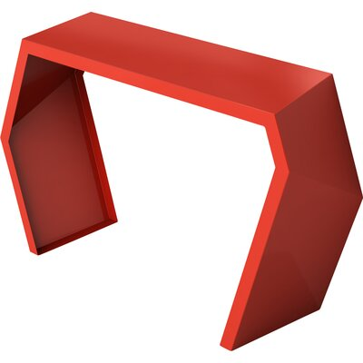 Pac Console Table Color: Spirit Red