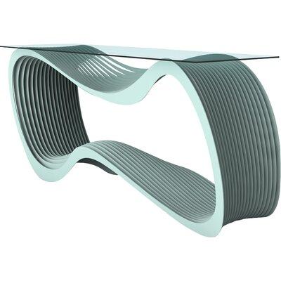 Loop Console Table Color: Sea Green
