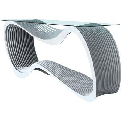 Loop Console Table Color: Glacier Gray