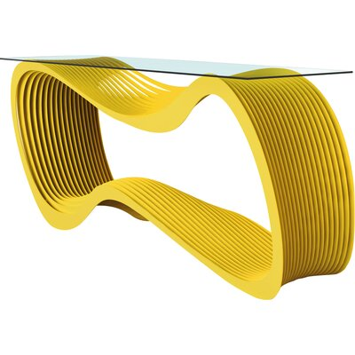 Loop Console Table Color: Bright Sun