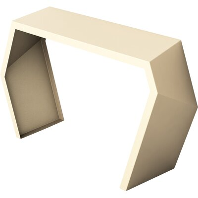 Pac Console Table Color: Chilled Champagne