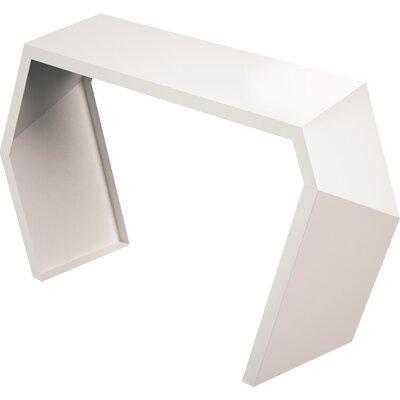 Pac Console Table Color: Cream White