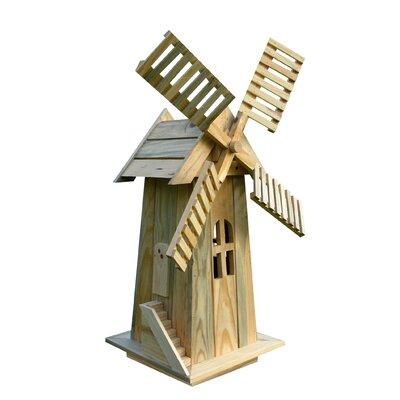 Shine Company Inc. Windmill Lawn Ornament