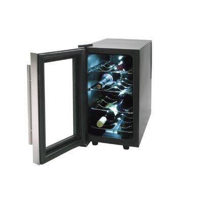 Lacor 70W Thermo-Weinkühler elektrisch für 8 Flaschen