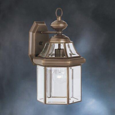Kichler Embassy Row 1 Light Outdoor Wall Lantern