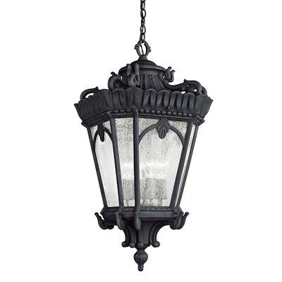 Kichler Hartford 4 Light Outdoor Hanging Lantern