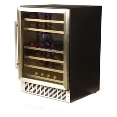 Hostess 46 Bottle Dual Zone Wine Refrigerator