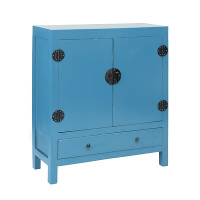 Lunar 2 Door and 1 Drawer Accent Cabinet