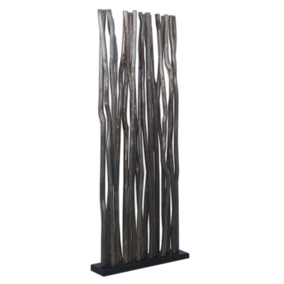 Jungle Room Divider Finish: Black