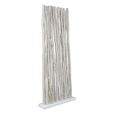Jungle Room Divider Finish: White