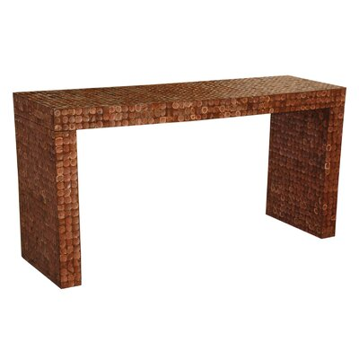 Cassy Console Table Color: Brown Luster