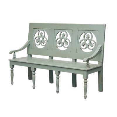 Katana Wood Bench Color: Gray