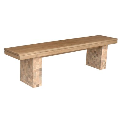 Danielle Teakwood Double Bench